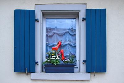 Originelle Fenster-Deko...