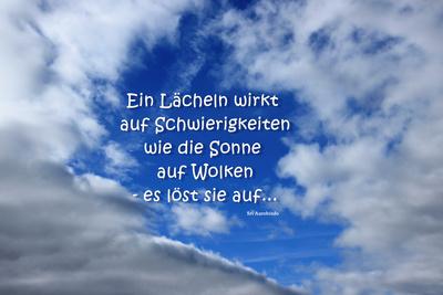 Gedanken zum Wolkenloch...