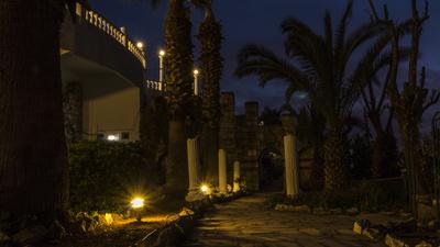 Nachts im Ephesus Princess Hotel