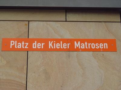 Platz der Kieler Matrosen