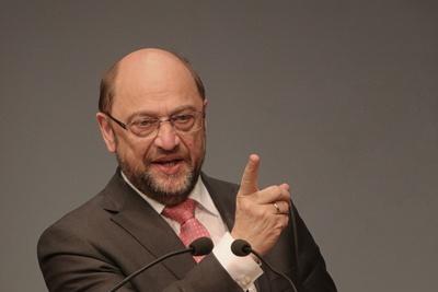 Martin Schulz - Fingerzeig