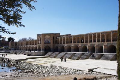 Khadju-Brücke in Isfahan