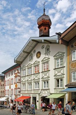 Bad Tölz - Altstadt, Marktstraße - Altes Rathaus