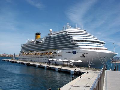 Costa Diadema im Hafen von Palma