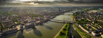 Weitblick über Köln
