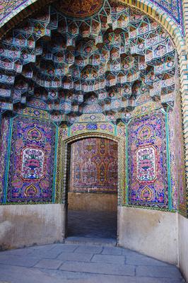 Nische in der Rosen-Moschee
