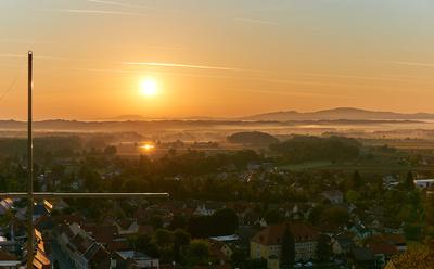 Sonnenaufgang in Schwanberg