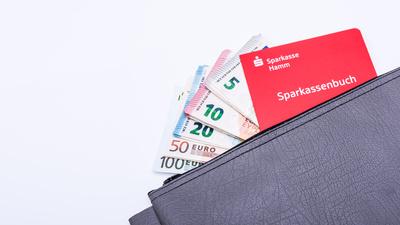 Tasche voll Geld