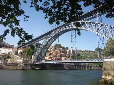 Ponte Dom Luis I in Porto