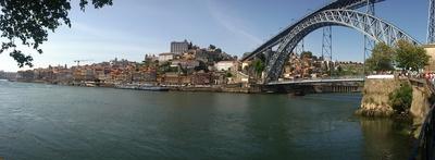 Panorama von Portos Altstadt