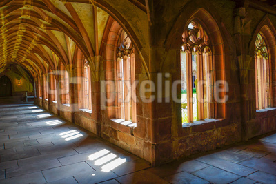 Kreuzgang im Kloster Alpirsbach