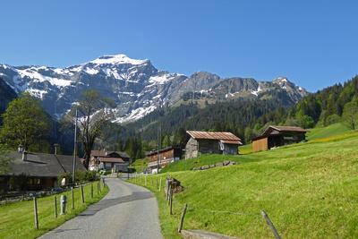 Saxeten mit Dreispitzgebirge