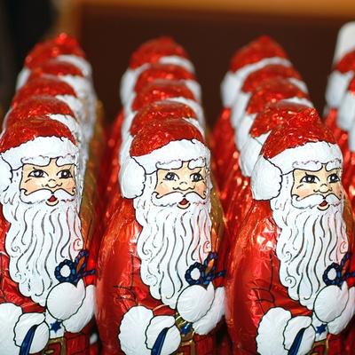 Konjunktur der Weihnachtsmänner