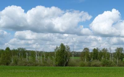 Wolken über Mecklenburg