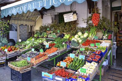 Forio D'Ischia – typisches italienisches Geschäft