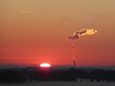 Sonnenaufgang bei München