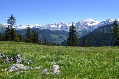 Die Ruhe in der Bergwelt
