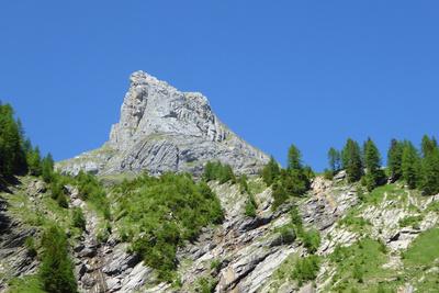Spitzhorn über dem Lauenental