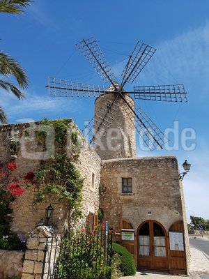 Windmühle in Sineu/Mallorca