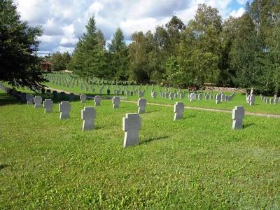 Deutscher Soldatenfriedhof in Saldus / Lettland