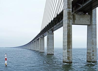 Ostrampe der Öresundbrücke