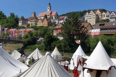 Ritterlager anno 2017 vor Horb am Neckar