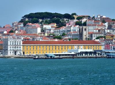 Lissabon mit Burg Sao Jorge