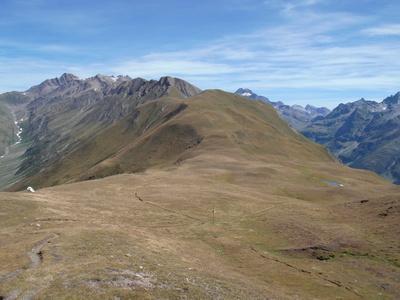 Wanderung auf Schweizer Bergen