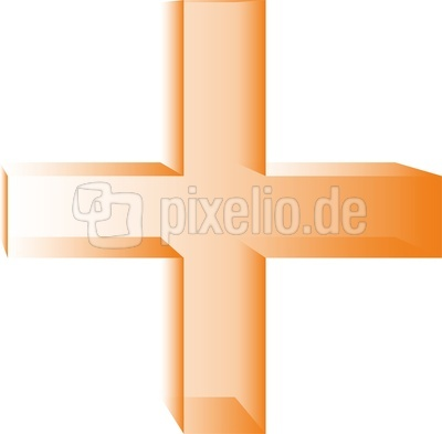 Kreuz orange