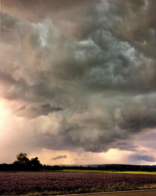 Gewitterstimmung bei Nimburg