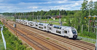 Doppelstockzug auf schwedisch