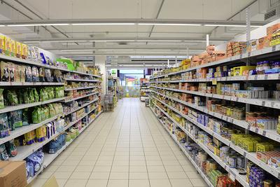 Supermarkt - Supermarktregale