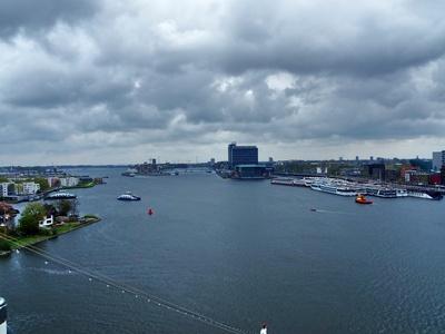 der Hafen von Amsterdam