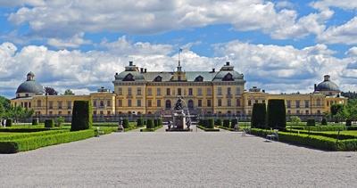 Schloss Drottningholm - Gartenseite