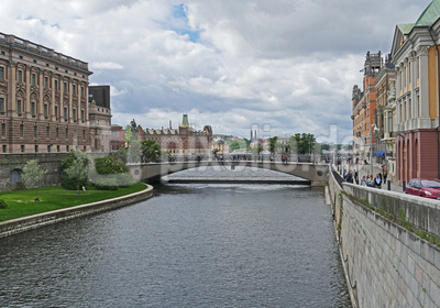 Stockholm - Wasserlauf