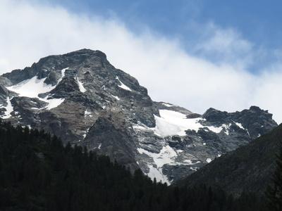 Schweizer Gipfelgletscher