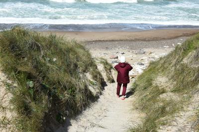 Ein Weg zum Strand