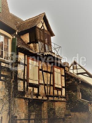 Altstadthaus in Wissembourg/Elsaß