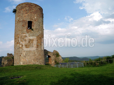Burg Mellnau in Hessen