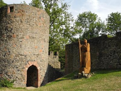 Ruine der Burg Amöneburg
