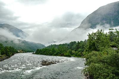 Zufluss zum Eidfjord