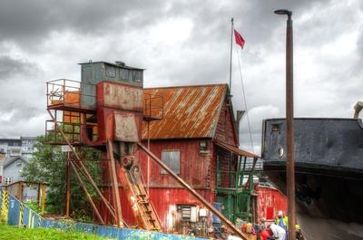 Alte Werft in Tromsö