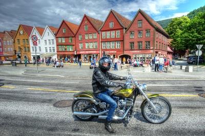 Harley vor Hansekontor