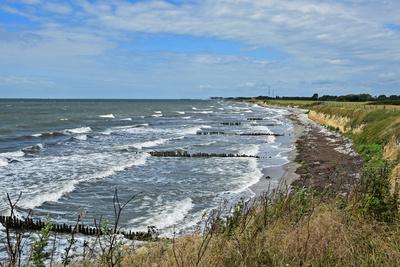 Wilde Ostseeküste auf Falster
