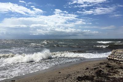 Windstärke 7 am südlichsten Punkt von Falster