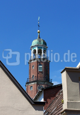 Kirchturm in Leer/Ostfriesland