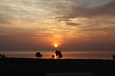 Sonnenaufgang bei Dahab