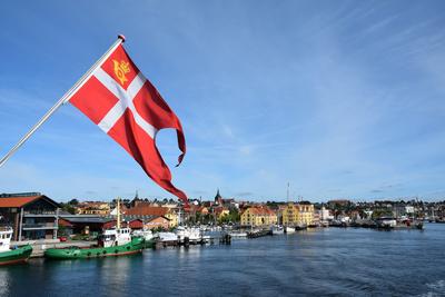Svendborg vom Fährschiff aus