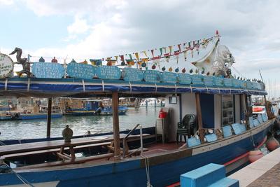 Eventschiff in Chioggia