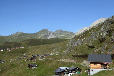 Foggenhorn und Hofathorn über der Belalp